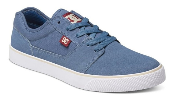 Dc Shoes Tonik Azul Amarillo Skate Tenis
