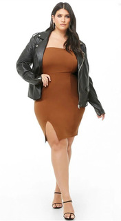 Vestido Strapless Plus Size By Forever 21