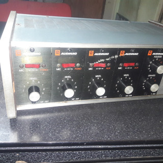 Amplificador Audinac Pa-4000 Unico!