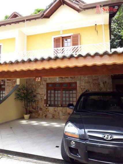 Excelente Sobrado Em Condomínio Fechado - Jardim Aliança - Guarulhos/sp - So0043