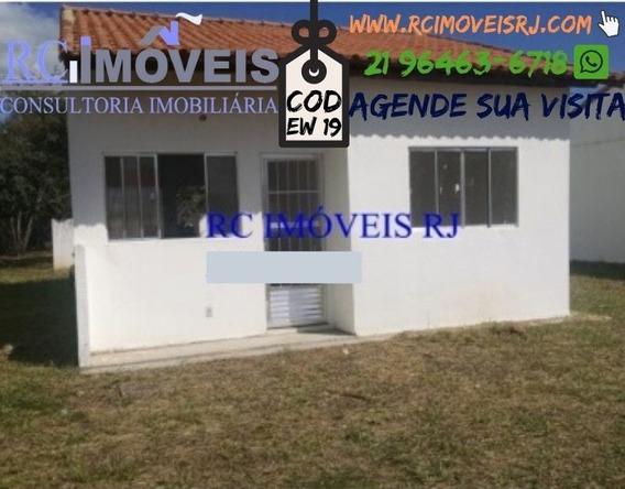 Casa Com 2 Quartos E Quintal Em Itambi !