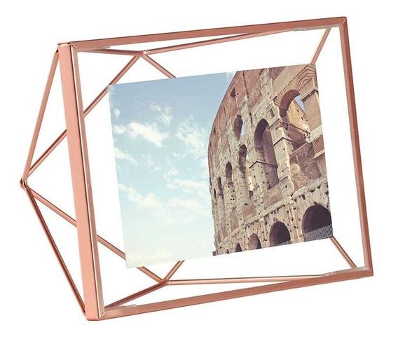 Porta Retrato Prisma 10x15 Cobre Umbra Umbra
