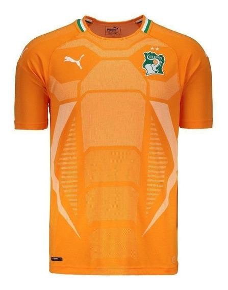 Camisa Puma Costa Do Marfim Home 2018