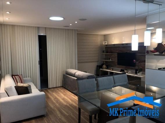 Lindo Apartamento No Jaguaré Com 78 M², 2 Vagas!!! - 367