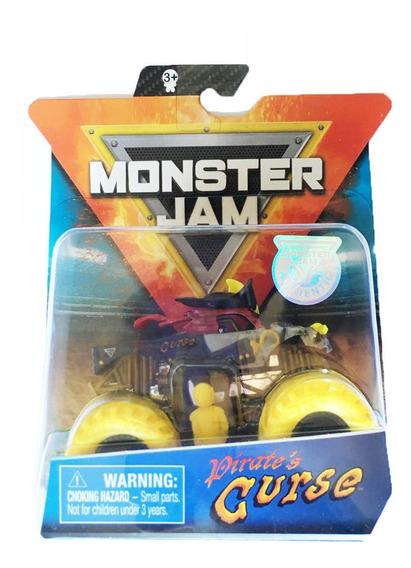 Monster Jam - Pirates Curse - Escala 1:64 - Spin Master