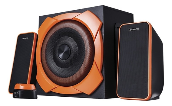 Caixa De Som Gamer Multilaser Warrior 50w Rms 6.5pol