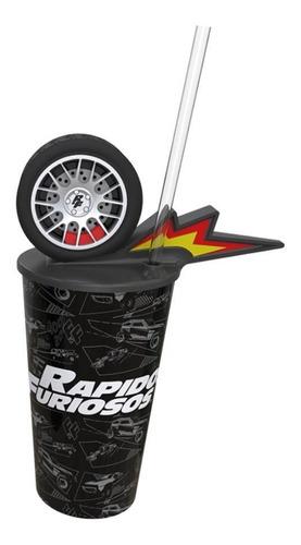 Vaso De Cine Fast Wheel Rápidos Y Furiosos 9