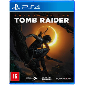Shadow Of The Tomb Raider - Ps4 - Mídia Física