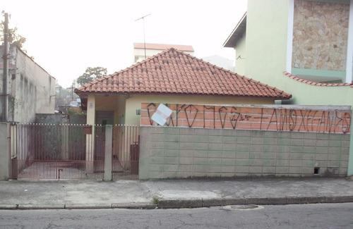 Imagem 1 de 3 de Terreno C/ Casa Velha Em Santo André - 2197