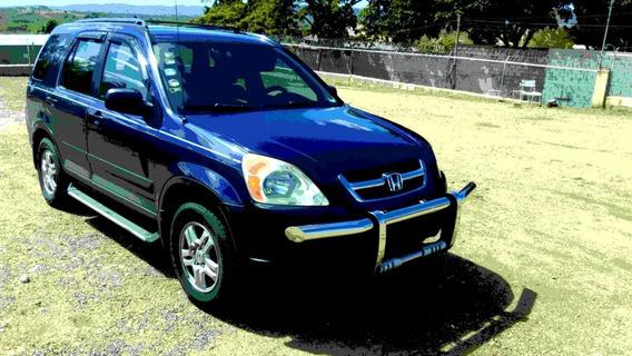 Honda Crv 2002 Excelentes Condiciones Aprovechala