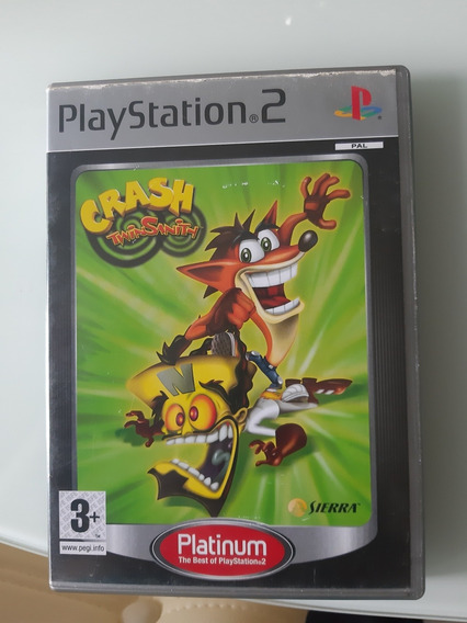 Crash Twinsanith Ps2 Original Pal Europeu