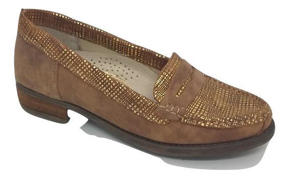 Zapato Cuero Dama Lauber