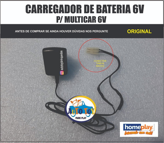 Multicar 6v Hpi 640 - Homeplay - Carregador 6v Tamiya