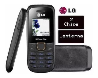 Celular Lg A275 Simples Lanterna Radio Fm Idoso Novo