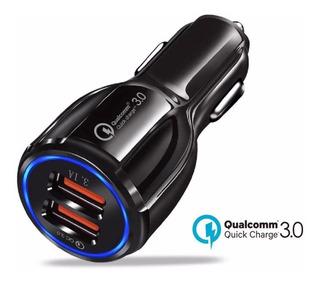 Cargador De Carro Fast Carga Rapida Qualcomm 3.0 Calidad