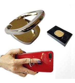 Anillo Para Celular De Seguridad Metálico Con Estuche