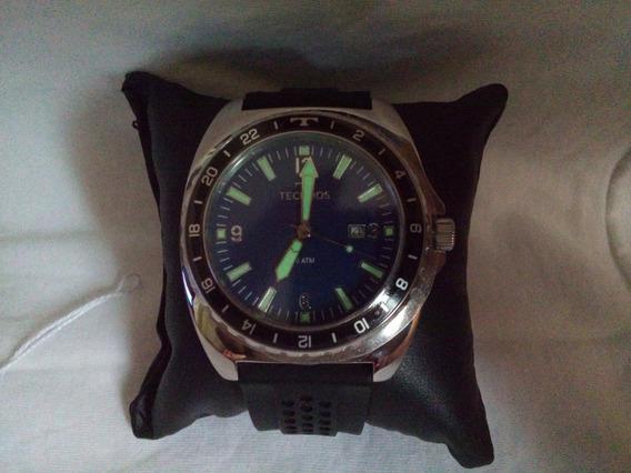 Relógio Technos Race 2115moc/1a - Aço - Azul