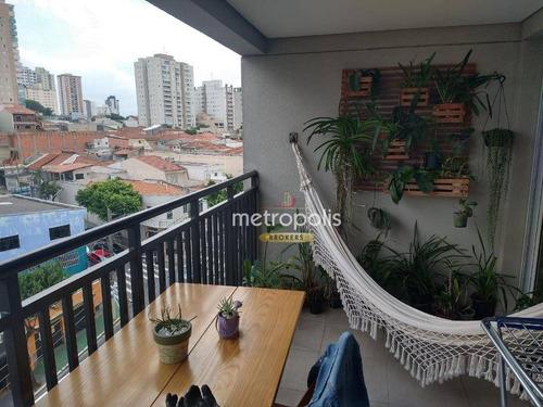 Apartamento Com 3 Dormitórios À Venda, 84 M² Por R$ 670.000,00 - Santa Paula - São Caetano Do Sul/sp - Ap5795