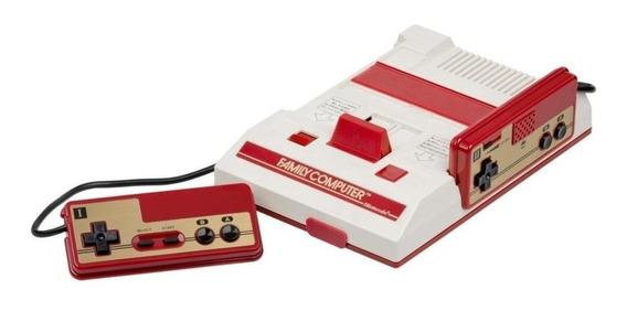 Nintendo Family Computer Classic Mini branco/vermelho
