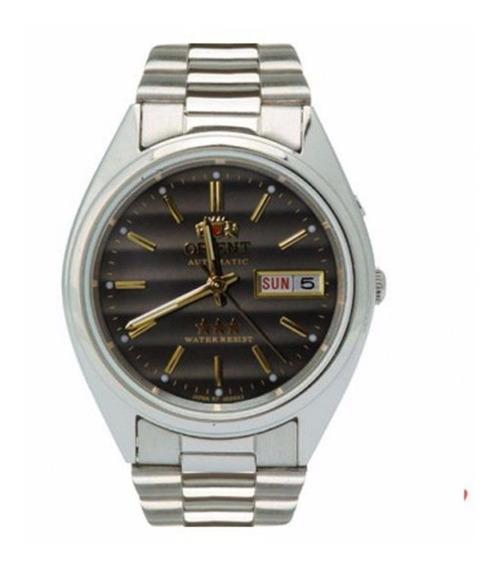 Relógio Automático Masculino Orient 469wa3 P1sx Cromado
