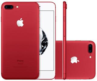 iPhone 7 Plus 128gb Vermelho Edição Especial Vitrine