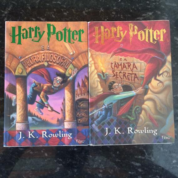 Livro: Harry Potter - A Pedra Filosofal E Câmara Secreta.