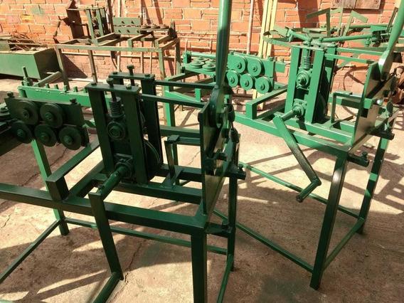 Máquina Para Enderezar, Cortar Y Doblar Alambron (estribos)