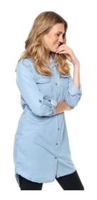 Camisolas Camisas Vestidos Mujer Largas Jean Chelsea Market