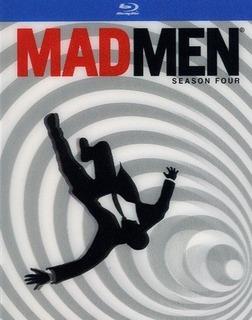 Mad Men Temporada 4 Blu Ray Sellado