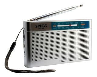 Radio Spica Sp340 Retro Am/fm Portatil 2 Bandas A Pilas