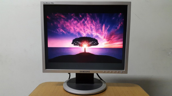 Monitor Samsung Syncmaster 740n 17 Polegada Excelente Estado