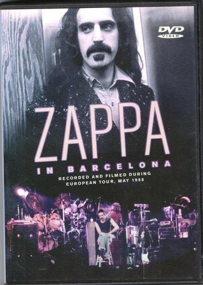 Frank Zappa In Barcelona Live Dvd 2:30 Hs. Gran Concierto