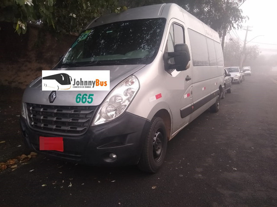 Renault Master 2.3 Executive L3h2 - Ano 2014/15 - Johnnybus