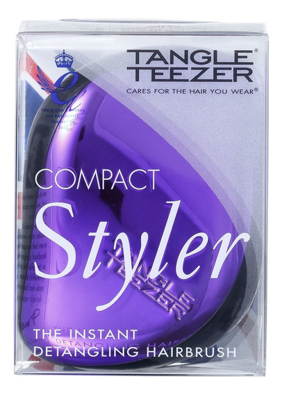 Tangle Teezer Compact Styler Purple Dazzle - Escova Blz
