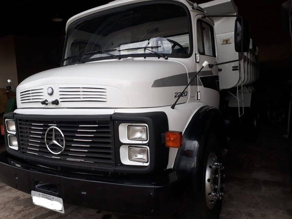 Caminhao Mb L2220, Ano 1987 , 6x4