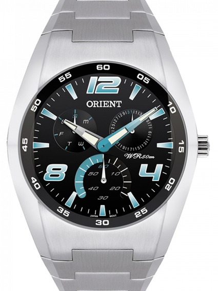 Relógio Orient Masculino Multifunção - Mbssm032 S2sx