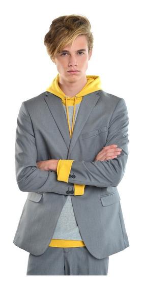 Saco Hombre Solapa Clásica Color Oxford Lob