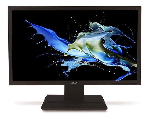 "Monitor Acer V6 V246HL LCD 24"" preto 220V"