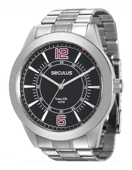 Relógio Seculus 28864g0svna1 Prata