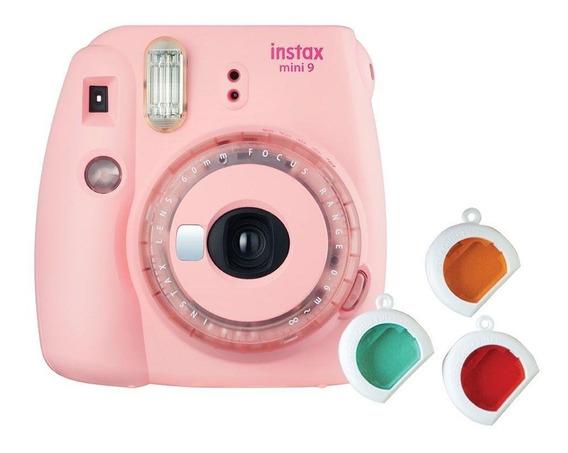 Instax Mini 9 + Bolsa + Filtros + Filme