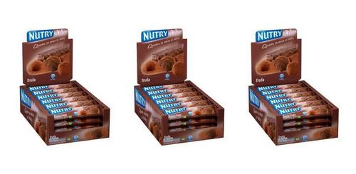 Nutry Barra De Cereal Trufa C/24 (kit C/03)