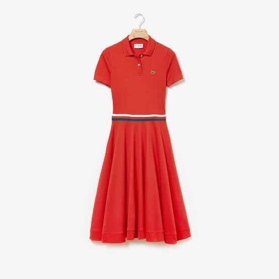 Vestido Lacoste Dama Edición Rene Lacoste Nueva Y Original