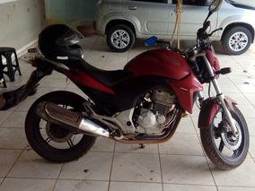 Honda 300 Cb R Vermelha