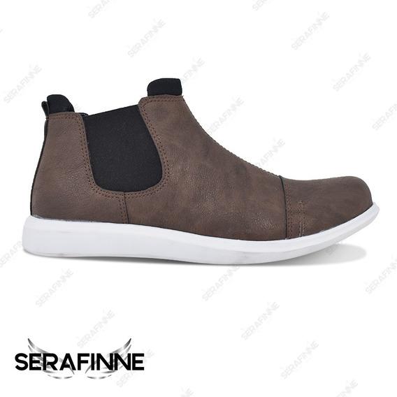 Bota Zapato Vestir 0 Urbano Náutico Hombre Serafinne Wolf 194 Oferta Envío Gratis