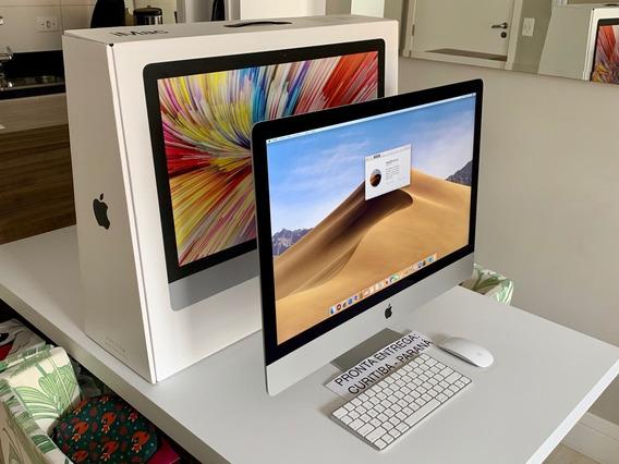 iMac 27 5k 2019 (i5 3.7/8gb/2tb Fusion/radeon Pro 580x 8gb).