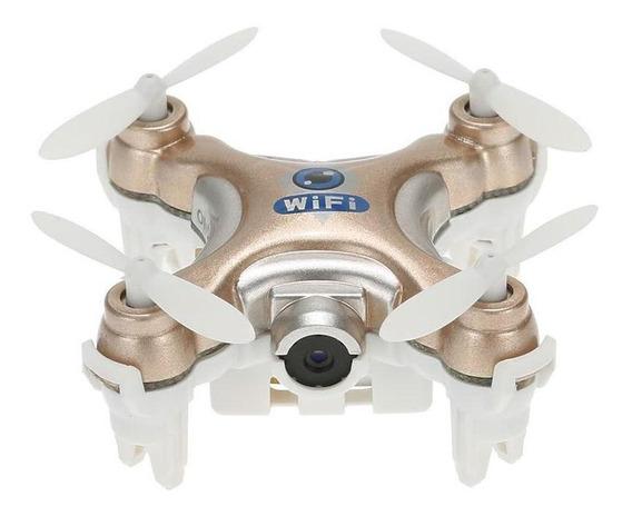 Drone Cheerson CX-10W com cámara SD gold