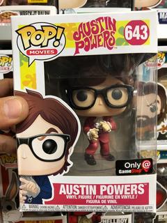 Funko Pop Movies Austin Powers Exclusivo Game Stop #643