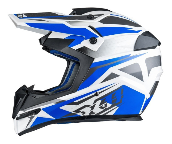 Capacete X11 Atomic Bull Motocross Trilha Bike Cross Moto