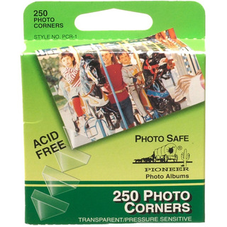 Esquineros Photo Corners Libre De Acidos Caja X 250 (915)