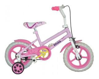 Bicicletas Mio Infantil Rodado 12 Con Rueditas Colores